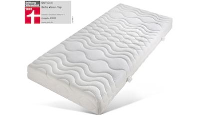 BeCo EXCLUSIV Komfortschaummatratze »Vision Top«, (1 St.), von Stiftung Warentest »GUT (2,5)«, getestet in Größe 90x200 cm in Härtegrad 3* kaufen