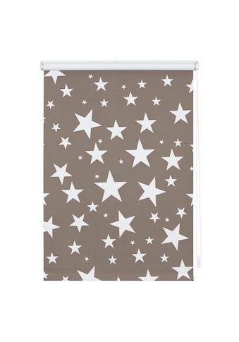 LICHTBLICK ORIGINAL Seitenzugrollo »Klemmfix Dekor Sterne«, verdunkelnd,... kaufen