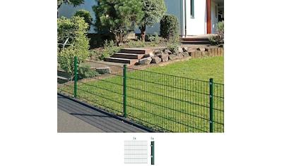 GAH Alberts Doppelstabmattenzaun, Anbauset 120 cm hoch, 1 Matte 2 m, 1 Pfosten kaufen