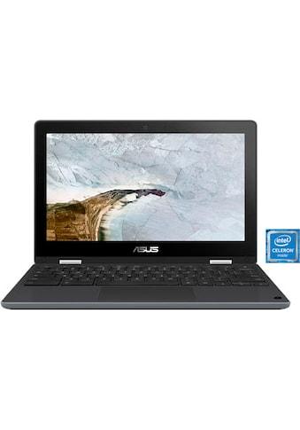 Asus Chromebook Flip C214MA - BU0128 Notebook (29,5 cm / 11,6 Zoll, Intel,Celeron,  -  GB HDD, 32 GB SSD) kaufen