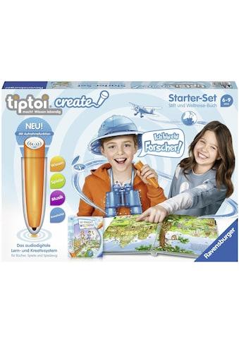 Ravensburger Spiel »tiptoi® Starter-Set: Die verrückte Weltreise«, mit CREATE Stift; Made in Europe, FSC® - schützt Wald - weltweit kaufen