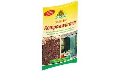 NEUDORFF Kompostwürmer 1 Bestell - Set kaufen