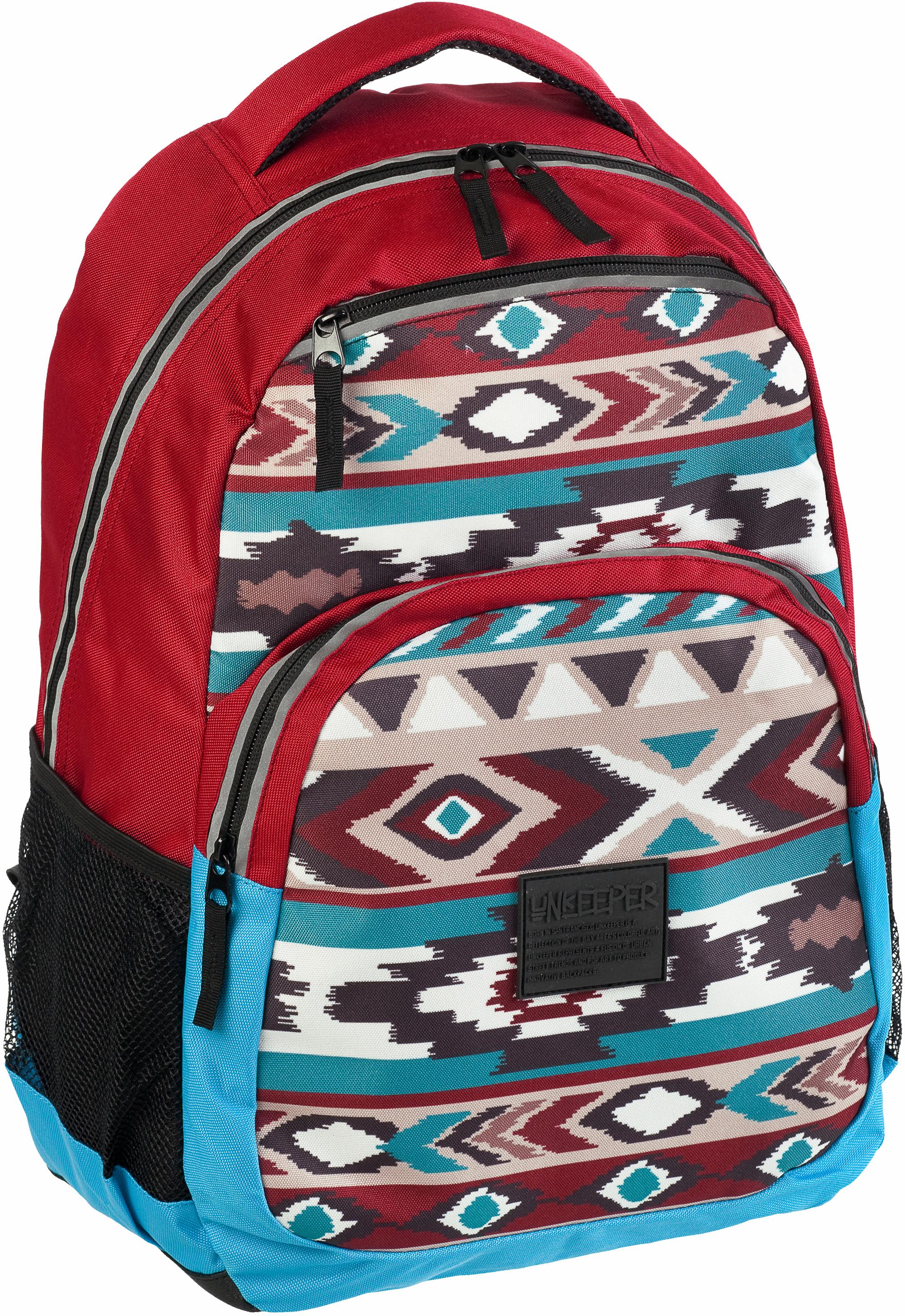 Unkeeper Rucksack, »Ethnic, Adventure Backpack«   Taschen > Rucksäcke > Sonstige Rucksäcke   Rot   UNKEEPER