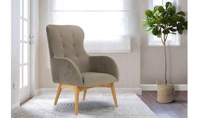 Home affaire Sessel »Leonarda«, feine Steppung im Rücken kaufen