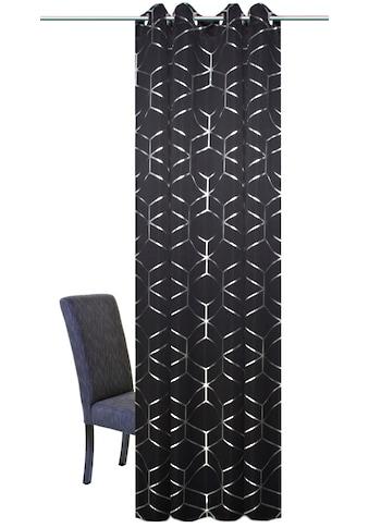 Vorhang, »LANDOS«, HOME WOHNIDEEN, Ösen 1 Stück kaufen