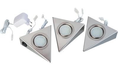 Nino Leuchten LED Unterbauleuchte »DREIECK«, Warmweiß kaufen