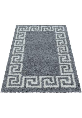 Ayyildiz Hochflor-Teppich »HERA 3301«, rechteckig, 50 mm Höhe, Wohnzimmer kaufen