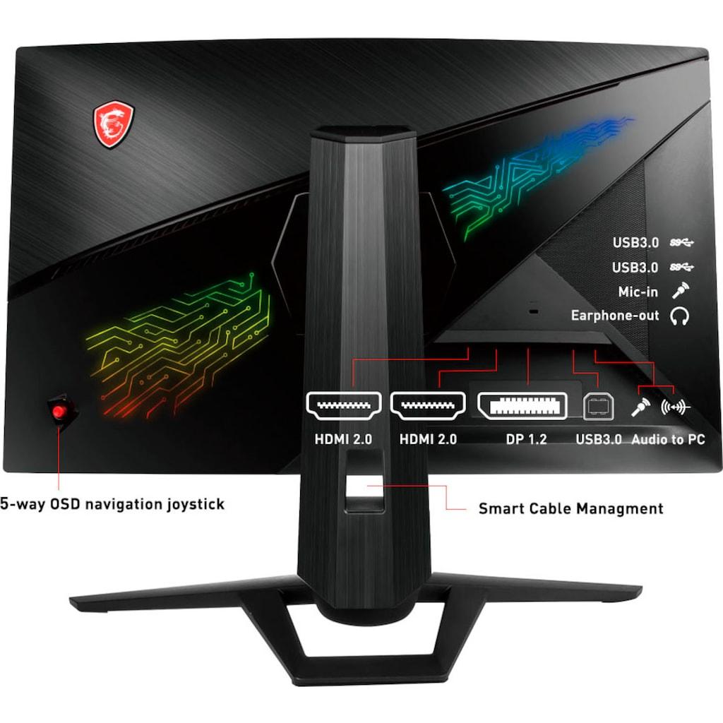 """MSI Gaming-Monitor »Optix MPG27CQ2«, 69 cm/27 """", 2560 x 1440 px, WQHD, 1 ms Reaktionszeit, 144 Hz, 3 Jahre Herstellergarantie"""