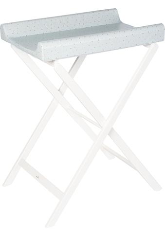 Geuther Wickeltisch »Trixi weiß, blaue Sterne«, bis 11 kg, mit Wickelauflage -... kaufen