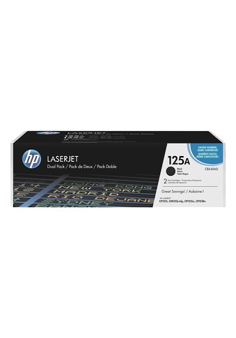 HP Doppelpack Druckkassetten 125A »HP CB540AD« kaufen