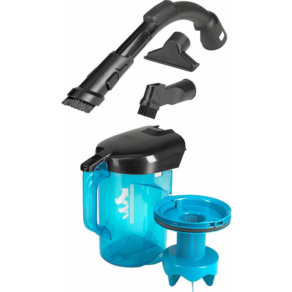 Rowenta Bodenstaubsauger »RO3731 Compact Power Cyclonic; Schwarz/Blau«, 750 W, beutellos, 1,5 Liter