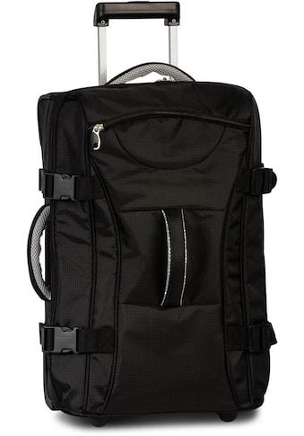 BESTWAY Reisetasche »Rollenreisetasche, schwarz 55 cm« kaufen