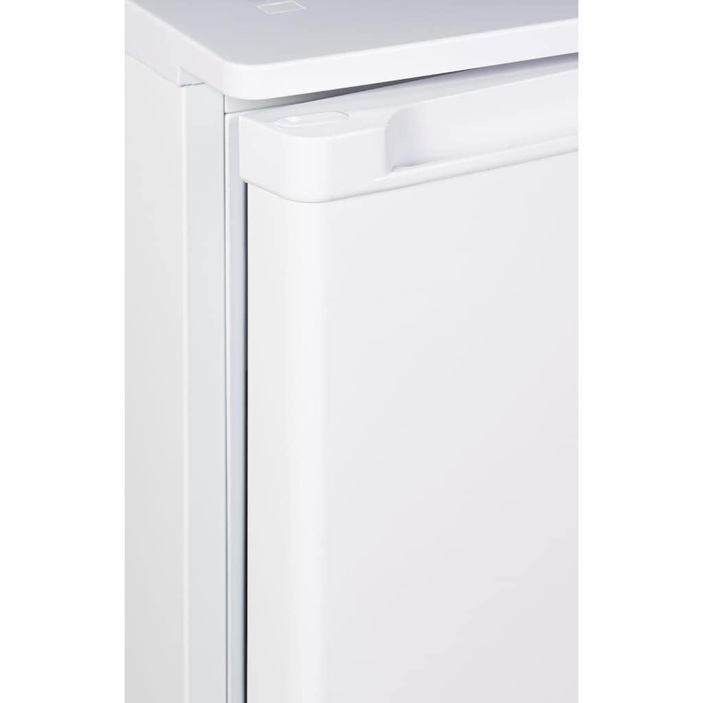 Amica Table Top Kühlschrank, KS15195W, 84 cm hoch, 48 cm breit