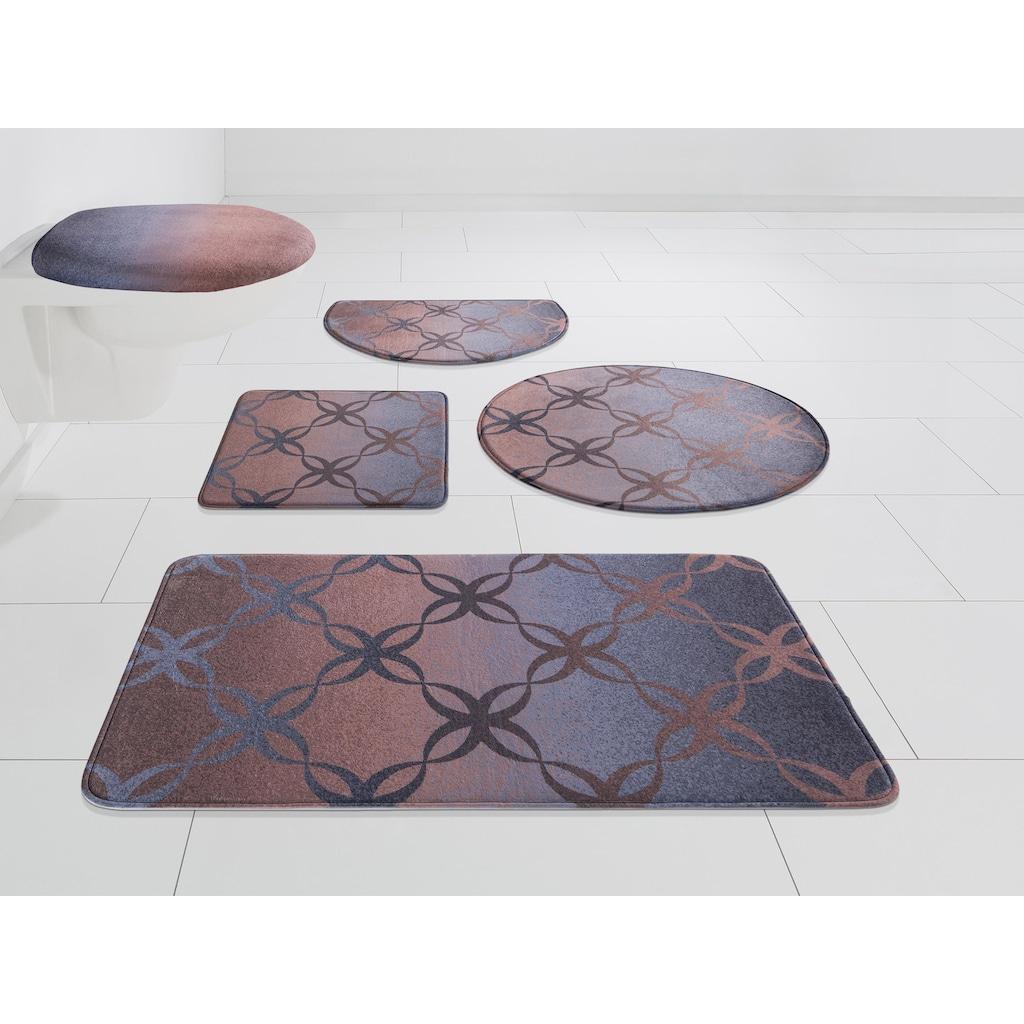 DELAVITA Badematte »Alium«, Höhe 12 mm, Memory Schaum