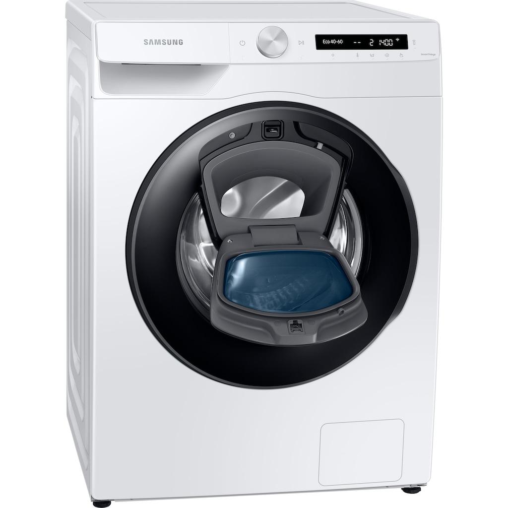 Samsung Waschmaschine »WW81T554AAW/S2«, WW5500T, WW81T554AAW/S2, 8 kg, 1400 U/min, AddWash™