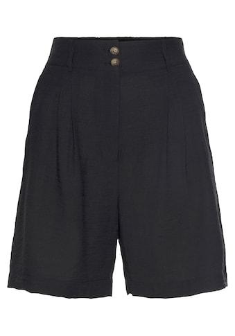 LASCANA Shorts, mit lässigem High-waist-Bund kaufen