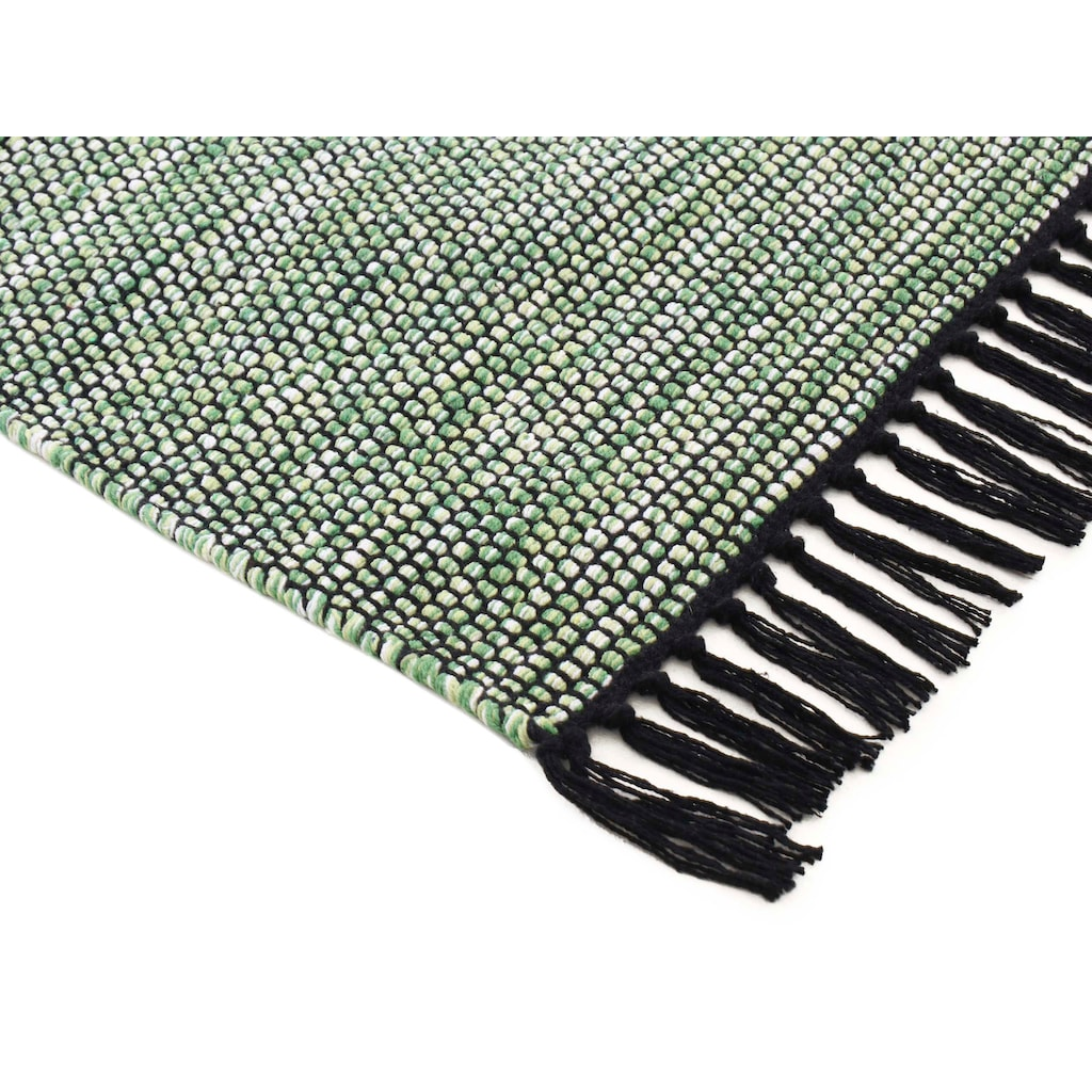 carpetfine Teppich »Kelim Nadi«, rechteckig, 5 mm Höhe, reine Baumwolle, Wendeteppich, Wohnzimmer