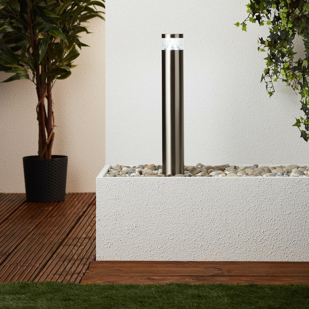 Brilliant Leuchten Avon LED Außensockelleuchte 50cm edelstahl