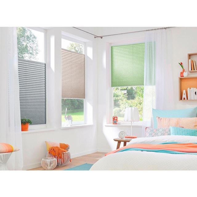 Plissee, »DAHRA«, my home, Lichtschutz, ohne Bohren, verspannt