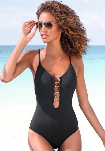 JETTE Badeanzug, mit Zierringen kaufen