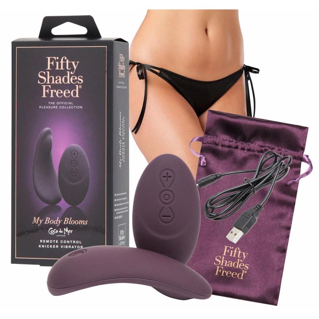 Fifty Shades of Grey Auflege-Vibrator »FSOG Freed My Body Blooms«, inkl. Satin-Aufbewahrungsbeutel