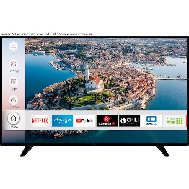 Hanseatic 58H600UDS LED-Fernseher (146 cm / (58 Zoll), 4K Ultra HD, Smart-TV