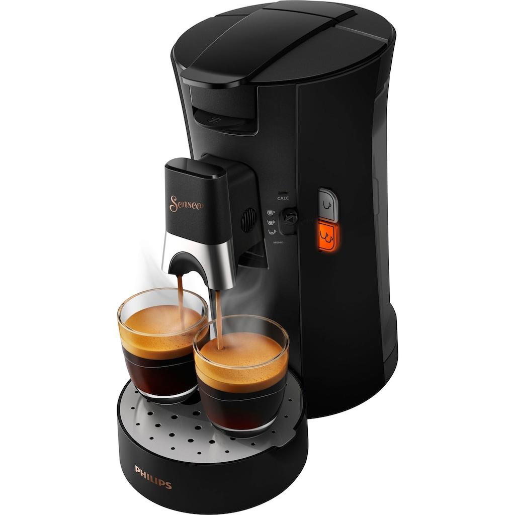 Senseo Kaffeepadmaschine »SENSEO® Select CSA240/60«, inkl. Gratis-Zugaben im Wert von € 14,- UVP zusätzlich zum Willkommens-Paket (80 Pads & Paddose gratis bei Registrierung)