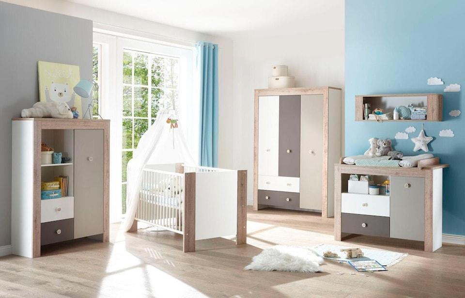 Babyzimmer Komplettset Madrid Set 3 Tlg Auf Raten Bestellen