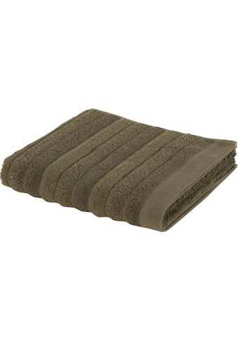 Möve Duschtücher »Wellbeing«, (1 St.), aus Bio-Baumwolle und Leinen kaufen