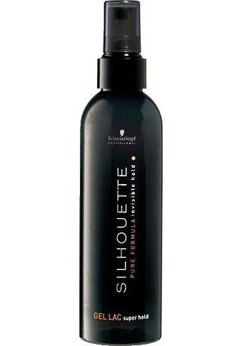 Schwarzkopf Professional Haarspray »Silhouette Super Hold Gel Lac«, Halt und Volumen kaufen