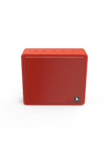 Hama Hama Mobiler Bluetooth - Lautsprecher Pocket, Rot kaufen