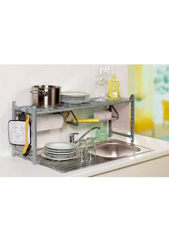 Ruco Küchenregal, Aluminium/Kunststoff, variabel in Höhe und Breite kaufen