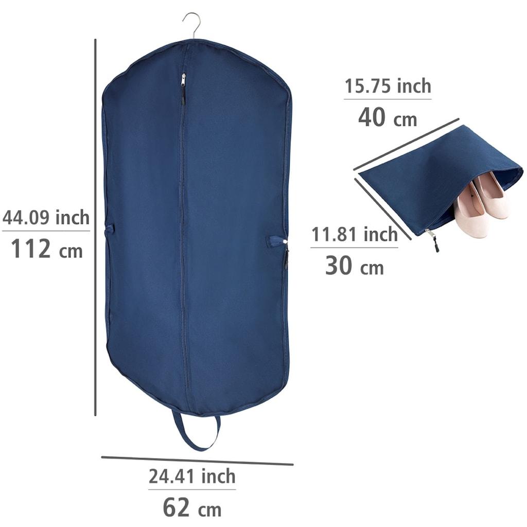 WENKO Kleidersack »Business Premium«, mit Universaltasche, 112 x 62 cm, Tasche: 40 x 30 cm, strapazierfähiges Polyester, abwaschbar