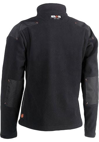 Herock Fleecejacke »Hera«, mit Leder Applikationen kaufen