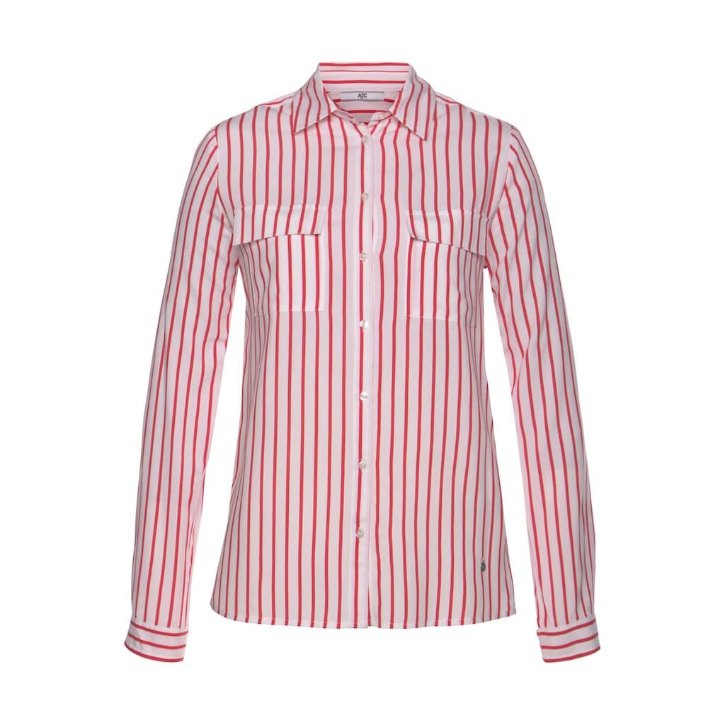 AJC Hemdbluse, im farbenfrohen Streifen-Design mit aufgesetzten Taschen - NEUE KOLLEKTION
