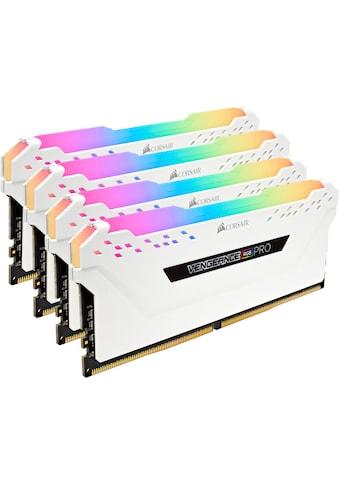 Corsair »VENGEANCE® RGB PRO 32 GB (4 x 8 GB) DDR4 DRAM 3.000 MHz C15« PC - Arbeitsspeicher kaufen