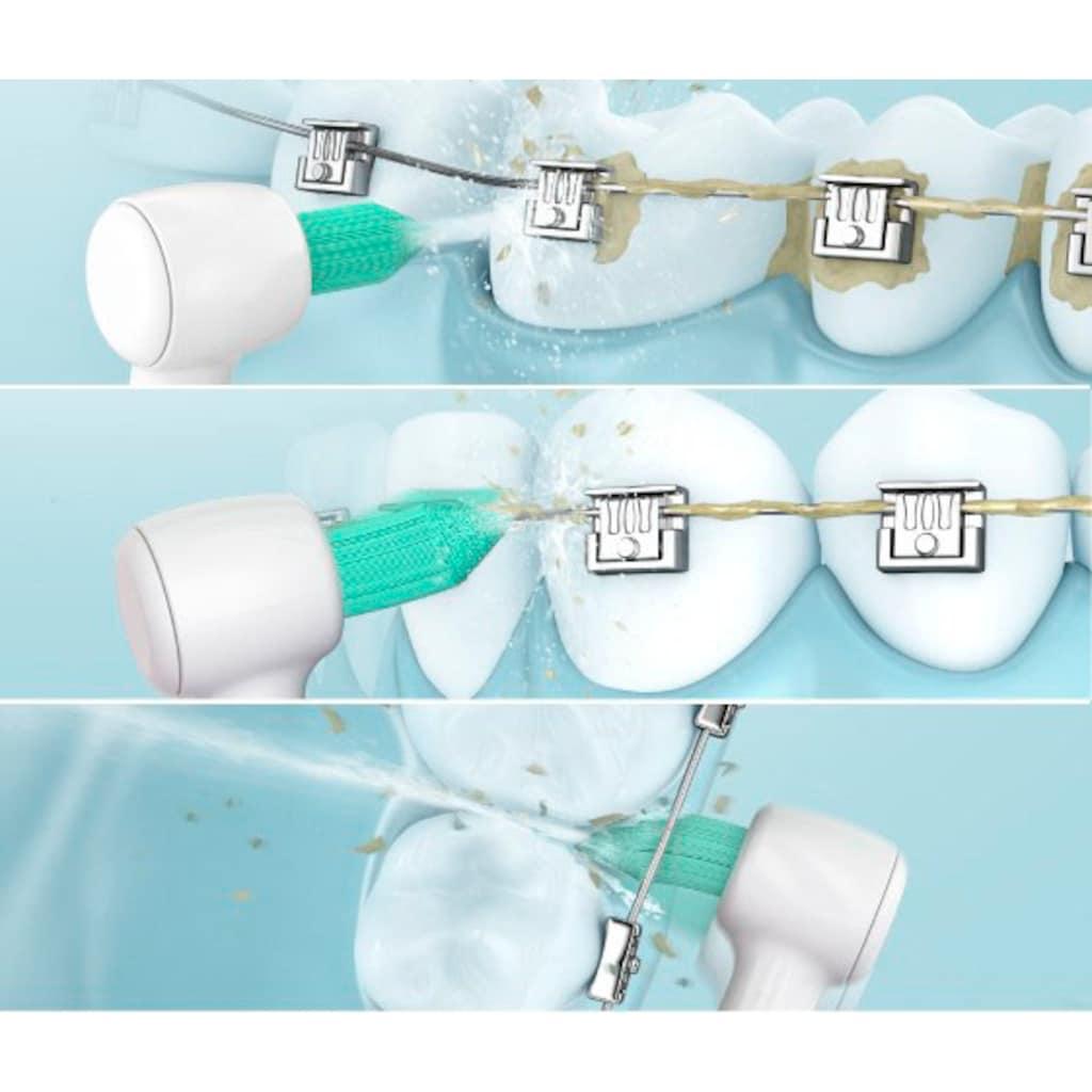 Panasonic Munddusche »EW1513«, 2 St. Aufsätze}, kabellose Munddusche mit orthodontischer Düse