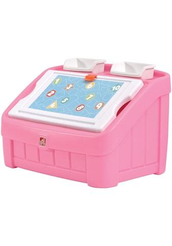 STEP2 Aufbewahrungsbox »Toy Box & Art Lid«, BxTxH: 77,5x48,3x48,3 cm kaufen