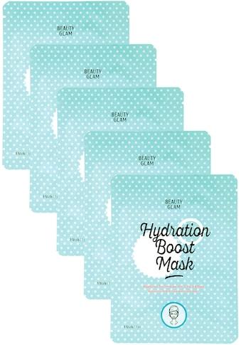 BEAUTY GLAM Gesichtsmasken-Set »Hydration Boost Mask«, (5 tlg.) kaufen