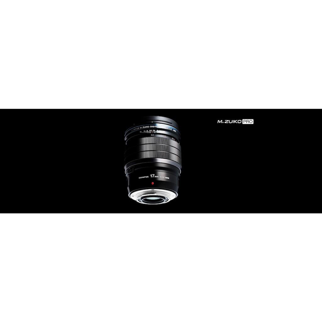 Olympus Festbrennweiteobjektiv »M.ZUIKO 17 mm PRO«