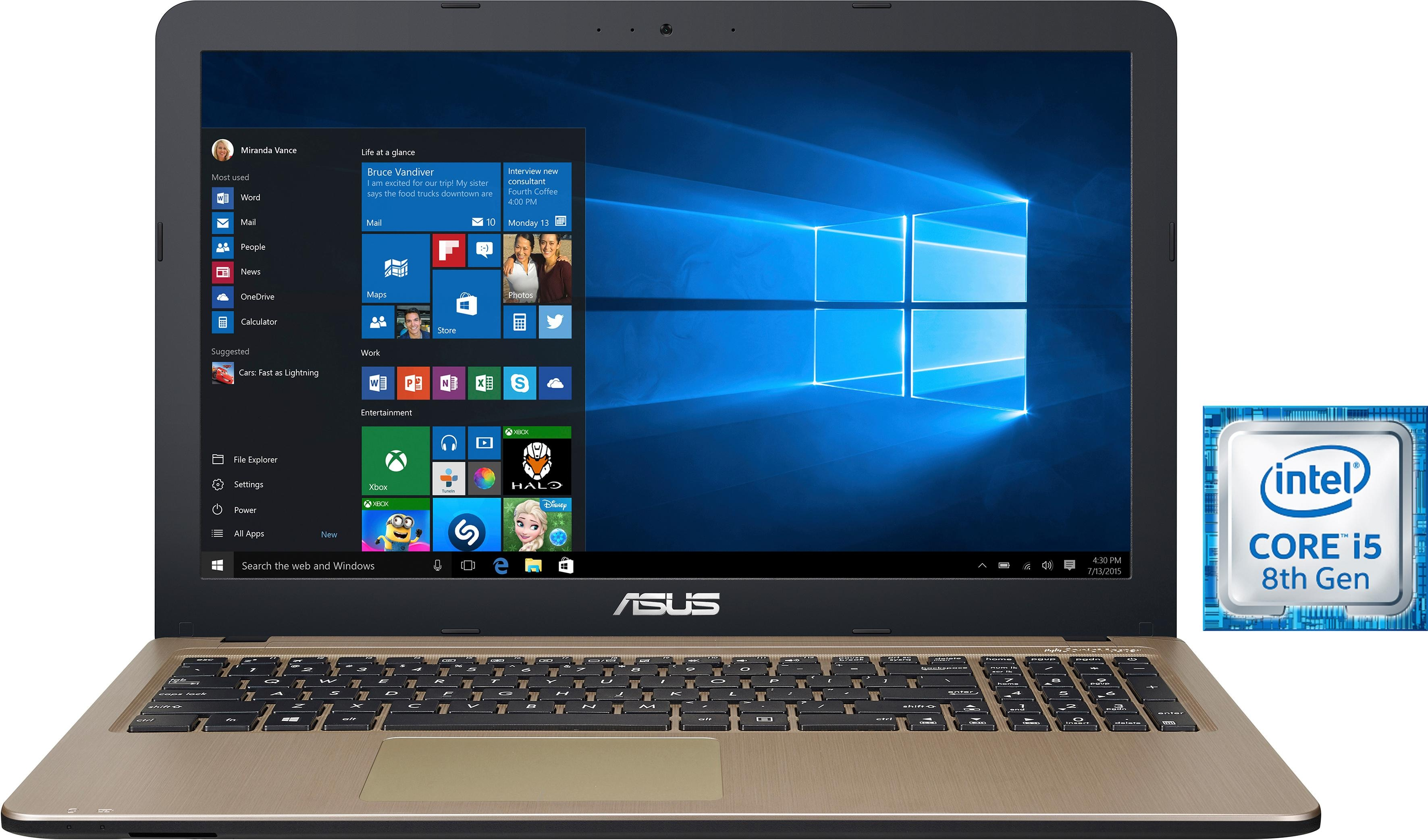 Asus F540UA-DM1071T Notebook (39,62 cm / 15,6 Zoll, Intel, Core i5, 256 GB SSD)