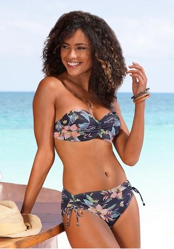 LASCANA Bikini-Hose »Malia«, mit seitlicher Raffung kaufen
