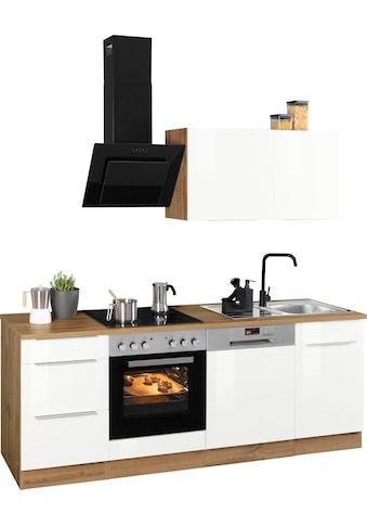 HELD MÖBEL Küchenzeile »Brindisi«, ohne Geräte, Breite 220 cm kaufen