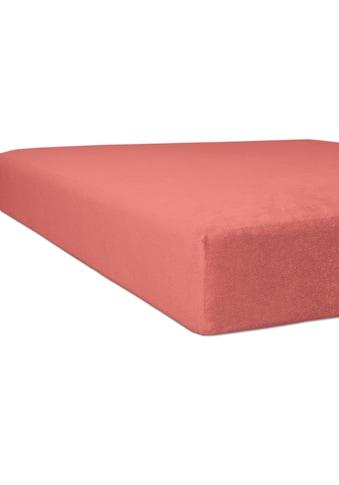 Kneer Spannbettlaken »Nicky-Velours«, flauschig weich und besonders wärmend kaufen