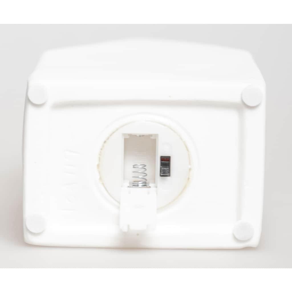 VALENTINO Wohnideen LED Dekoobjekt »Lichthaus Motiva«, Warmweiß, aus Porzellan, mit Baummotiv