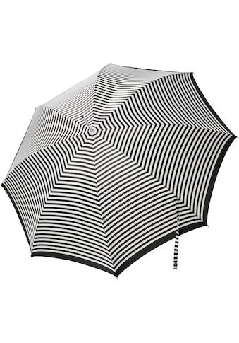 doppler MANUFAKTUR Stockregenschirm »Serge, streifen«, handgemachter... kaufen