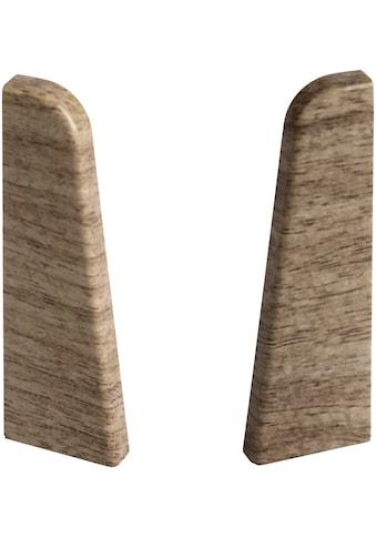 EGGER Endstücke »Nußbaum hellbraun«, für 6 cm Sockelleiste kaufen