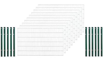 Arvotec Einstabmattenzaun, 120 cm hoch, 5 Matten für 10 m, 6 Pfosten kaufen