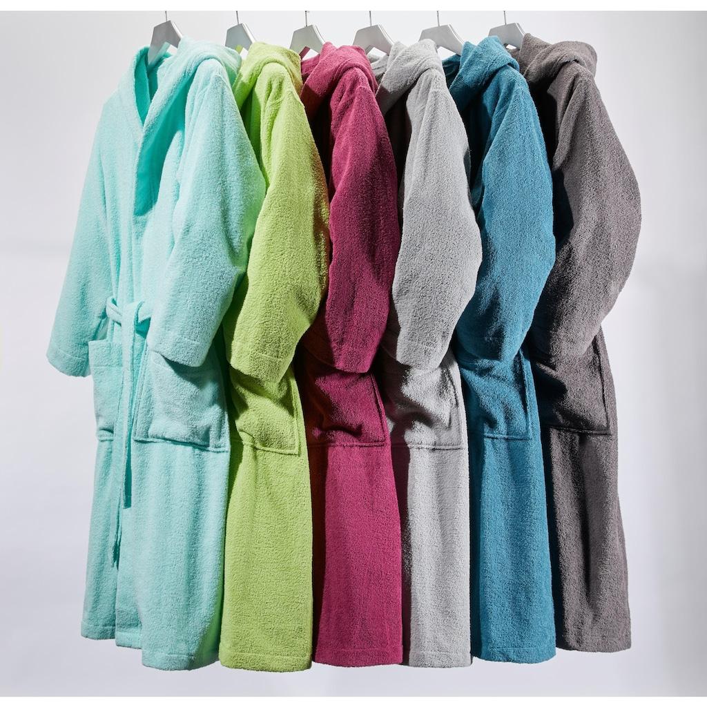 OTTO products Unisex-Bademantel »Neele«, aus Bio Baumwolle