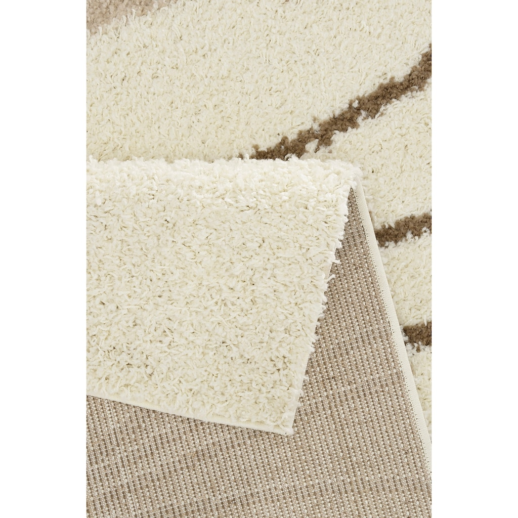Bruno Banani Hochflor-Teppich »Terry«, rechteckig, 30 mm Höhe